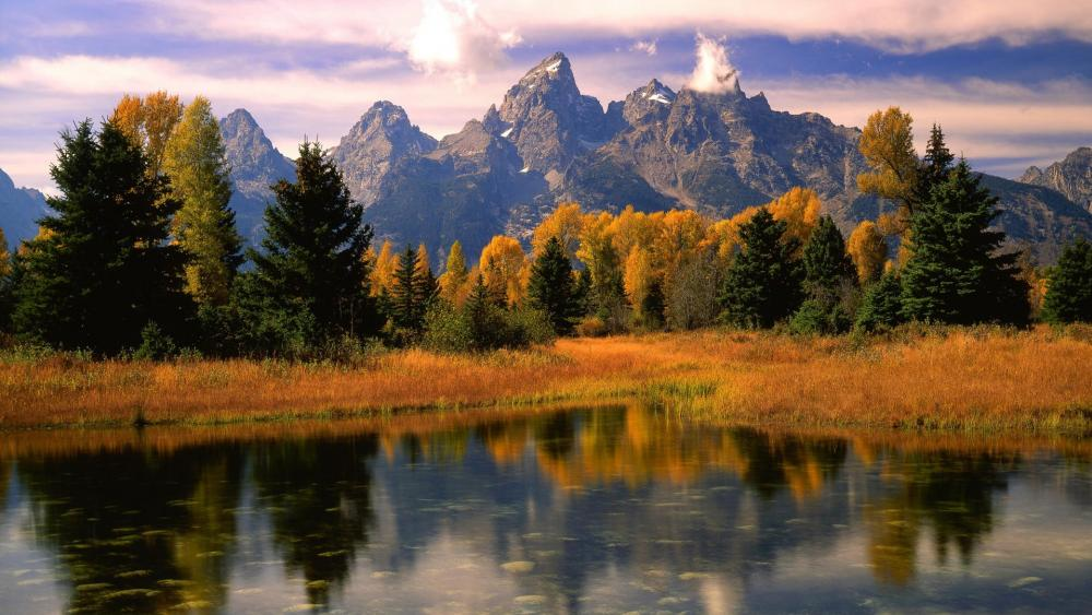 Teton Range wallpaper