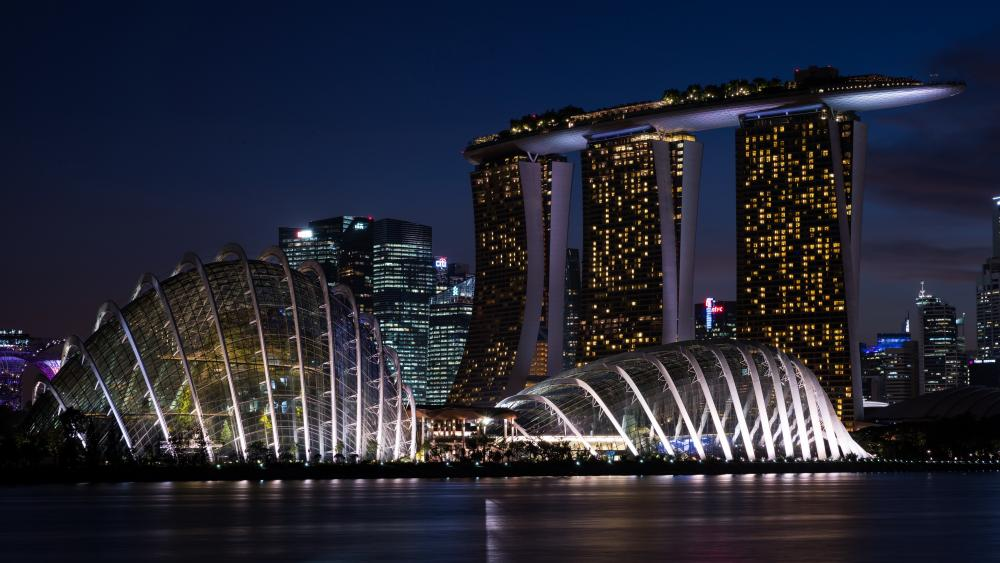 Marina Bay Sands wallpaper