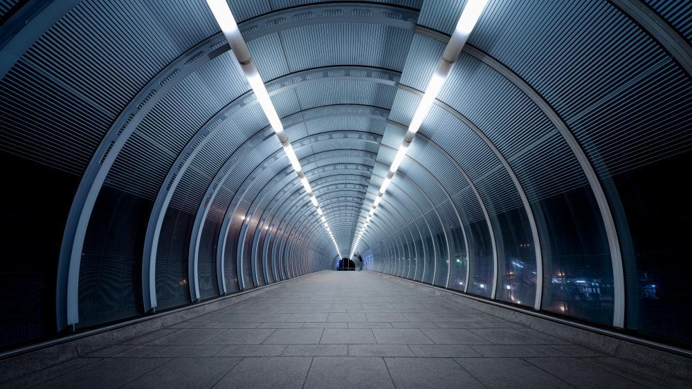 Poplar DLR station wallpaper