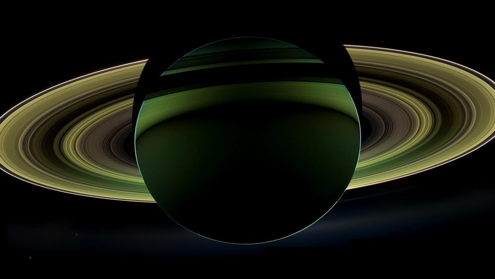 Rings of Saturn wallpaper