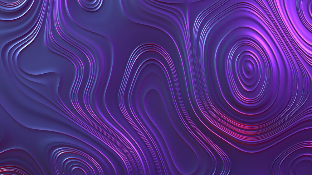 Shiny purple abstract art wallpaper