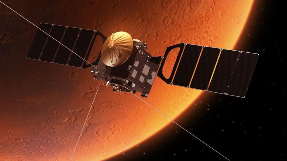 Mars Orbiter Mission wallpaper