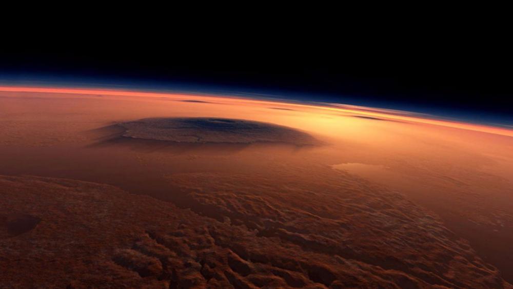 Mars atmosphere wallpaper
