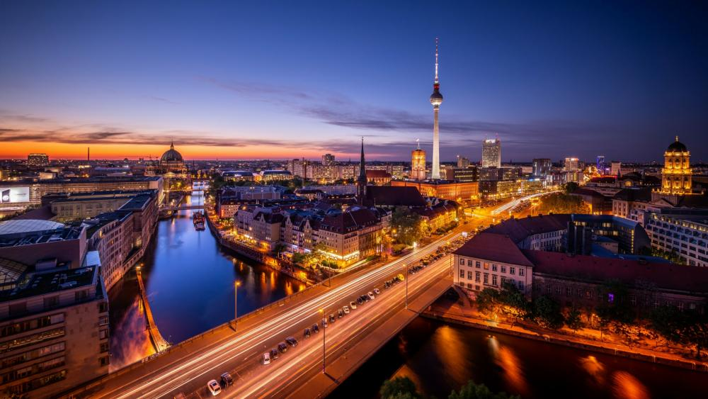 Spree River, Berlin wallpaper