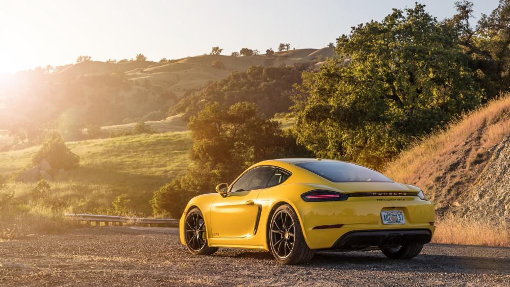 Porsche 718 Cayman wallpaper