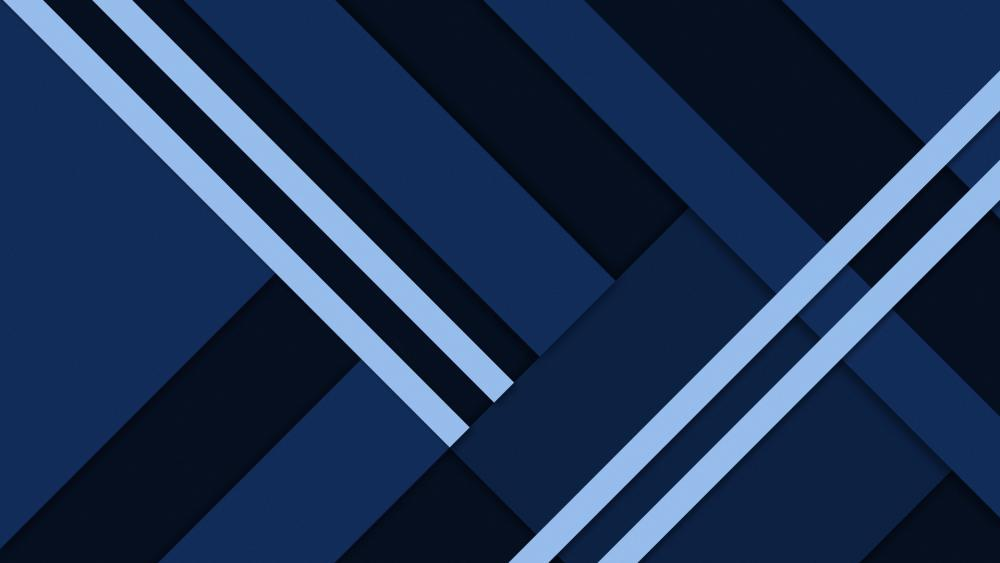 Smooth Blue wallpaper
