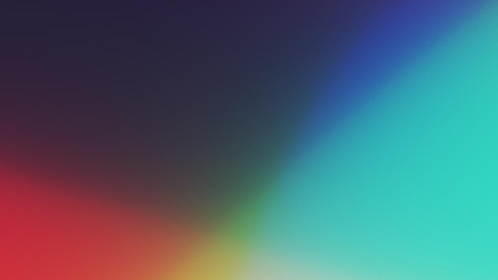 Colorful gradient wallpaper