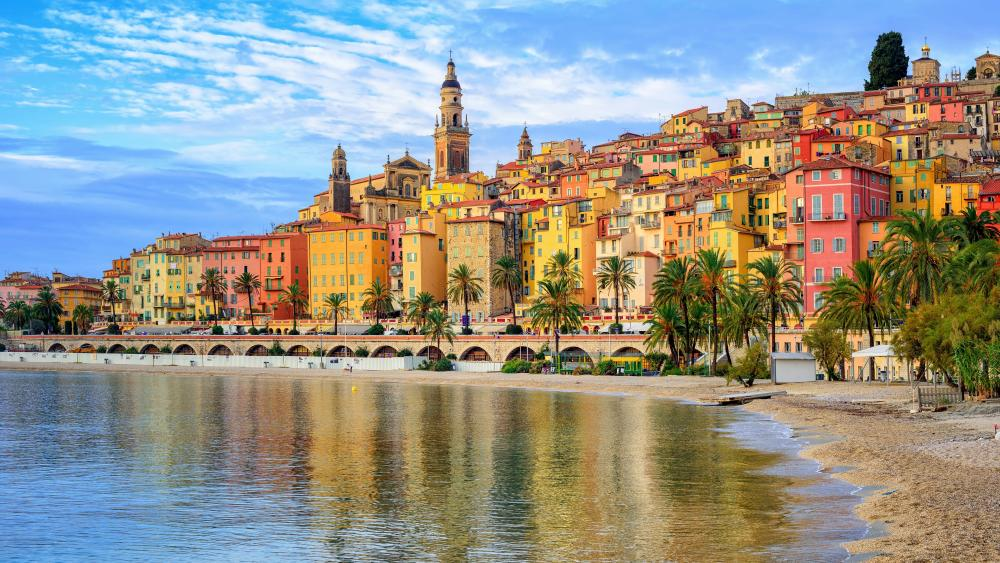 Menton (France) wallpaper