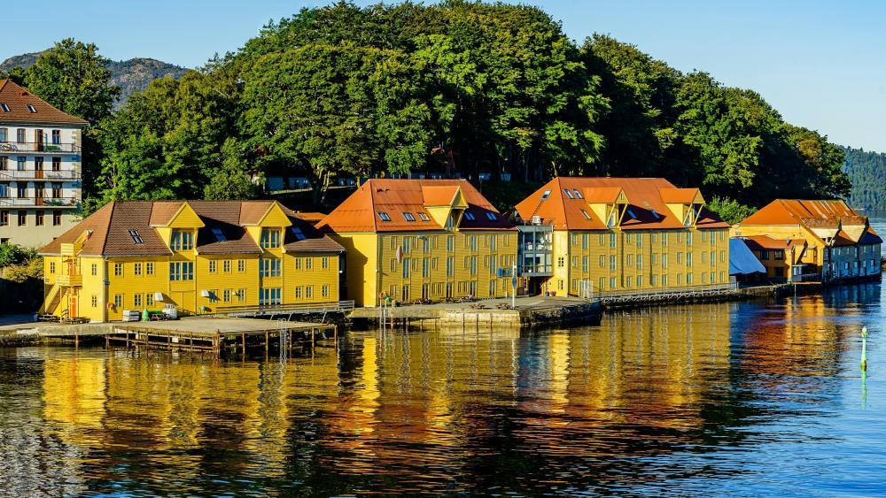 Bergen (Norway) wallpaper