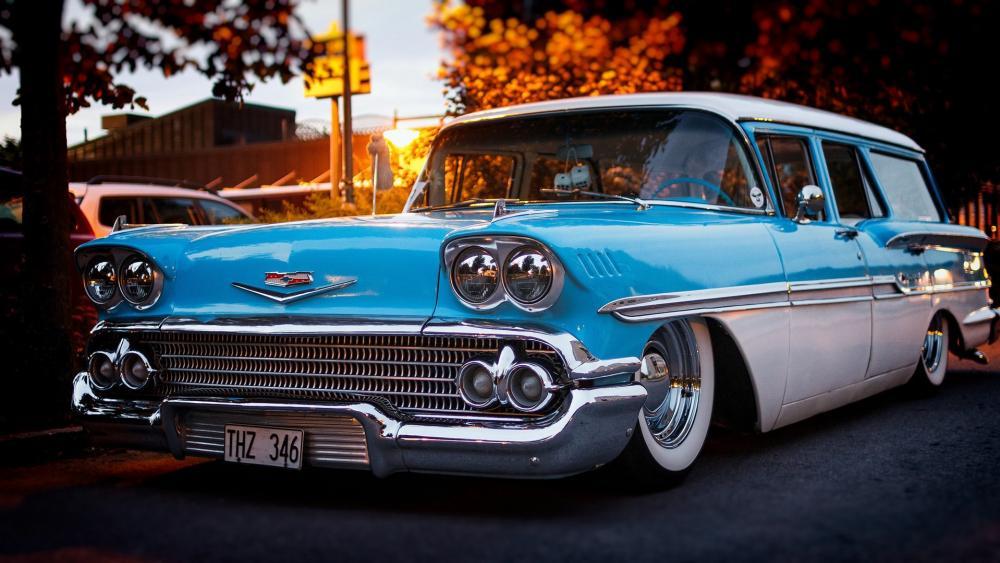 1958 Chevrolet Brookwood wallpaper