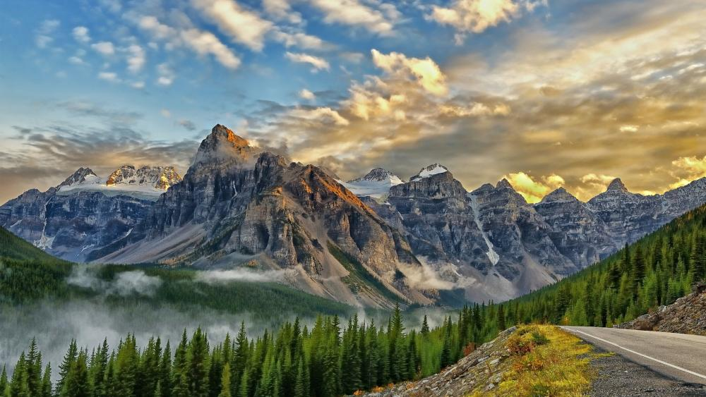 Valley of the Ten Peaks (Banff National Park) wallpaper