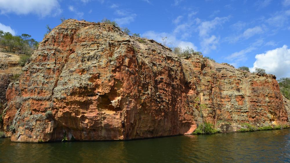 Canyon de Xingó wallpaper