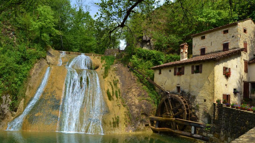 Croda watermill (Molinetto della Croda) wallpaper
