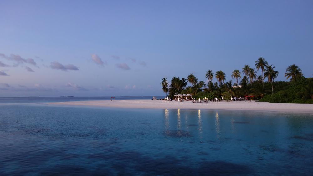 Dreamy scenery in Maldives wallpaper