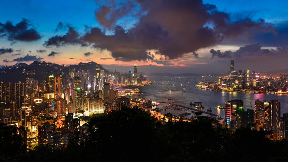 Victoria Harbour - Hong Kong wallpaper
