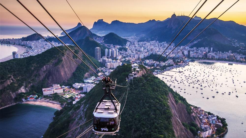 Sugarloaf Mountain Cable Car wallpaper