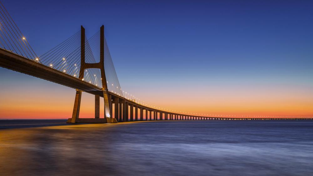 Vasco da Gama Bridge wallpaper