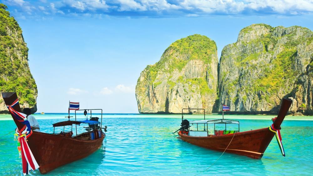 Maya Bay, Thailand wallpaper