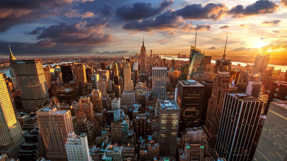Manhattan Midtown wallpaper
