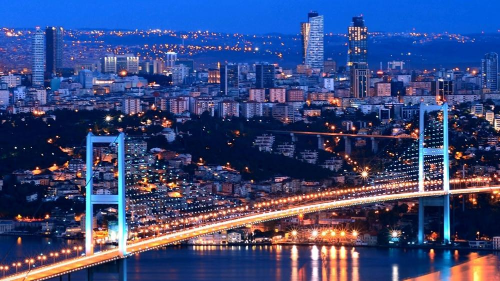 Bosphorus Bridge, Turkey wallpaper