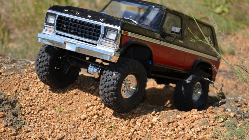 Traxxas TRX-4 Ford Bronco wallpaper
