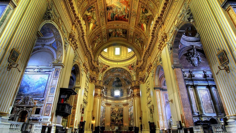 Sant'Andrea della Valle (Rome) wallpaper