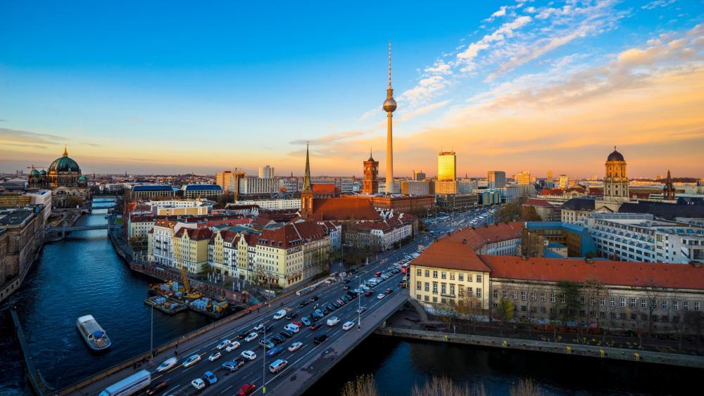 Berlin skyline wallpaper