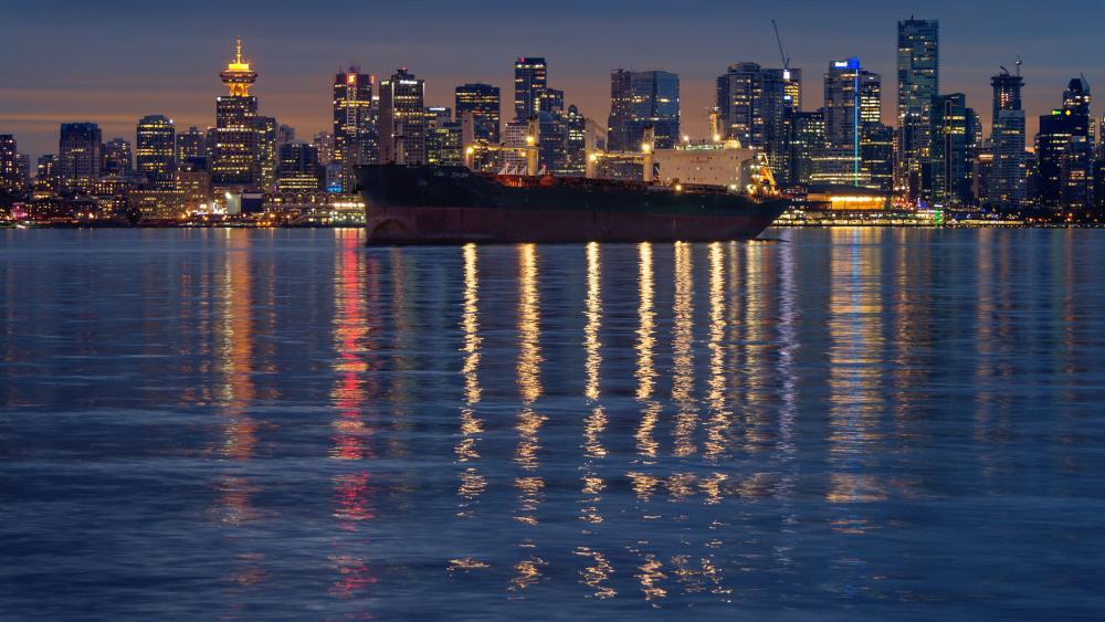 Vancouver Harbour wallpaper