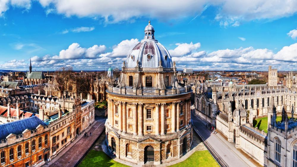 The Radcliffe Camera (Oxford) wallpaper