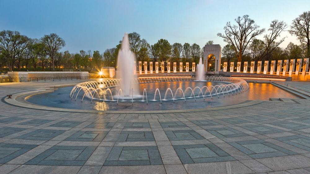 National World War II Memorial (Washington) wallpaper