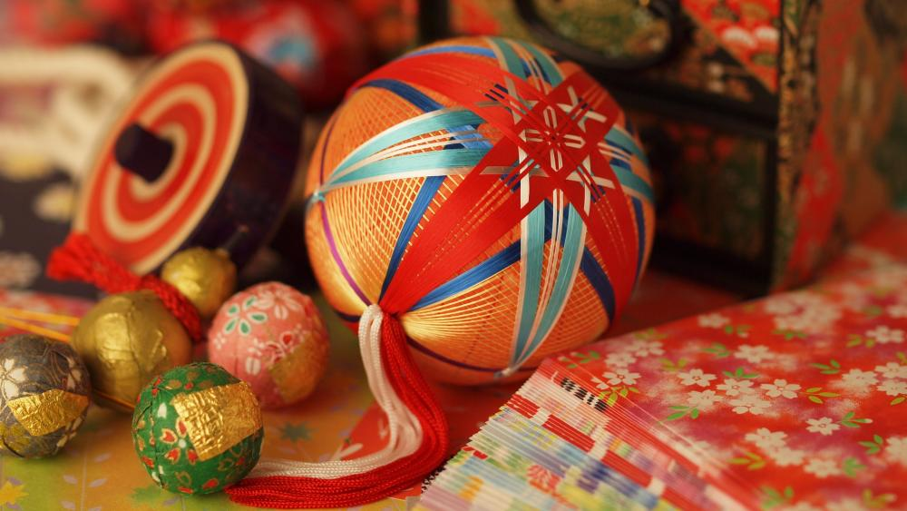 Easter ornament wallpaper