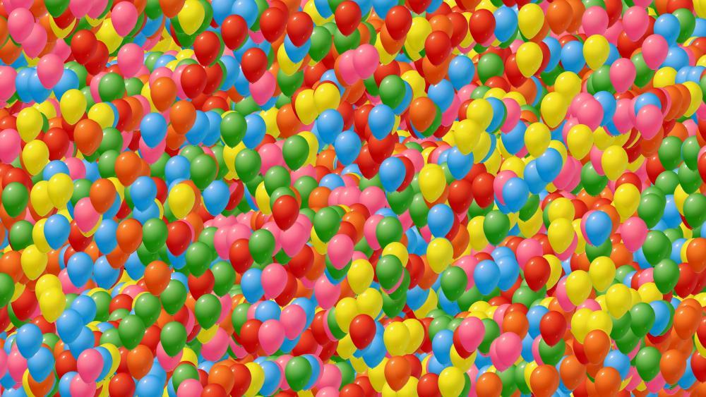 Colorful balloons 🎈 wallpaper