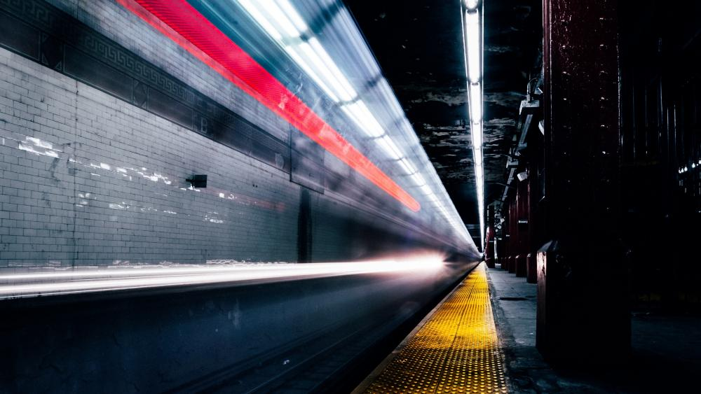 Tube wallpaper