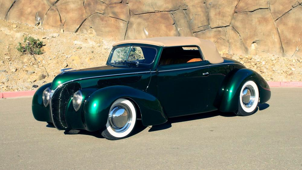 1938 Ford Deluxe Convertible wallpaper