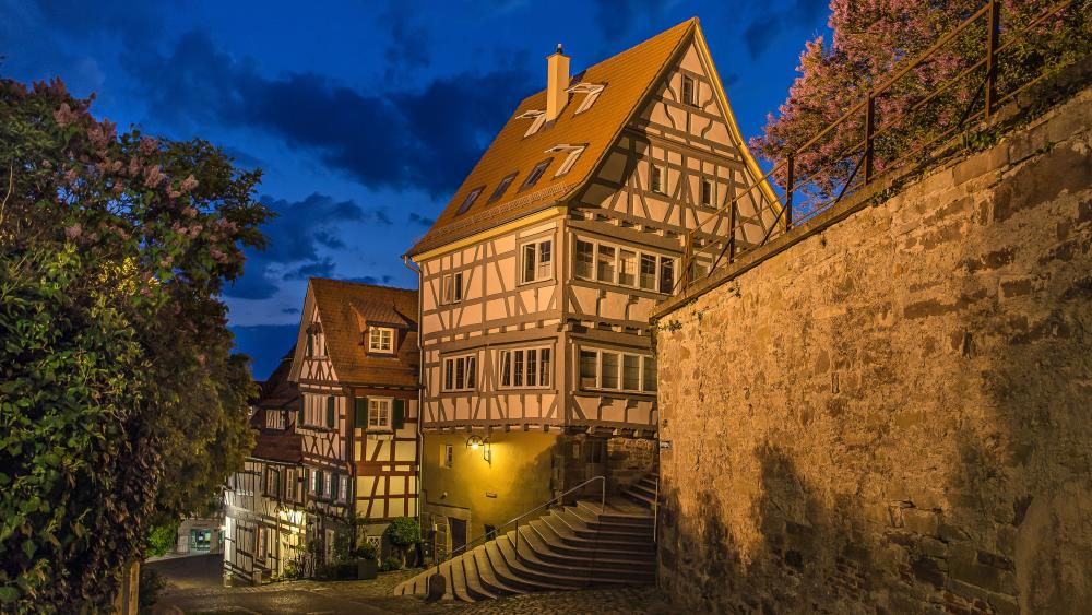 Half-timbered Houses in Baden-Württemberg wallpaper