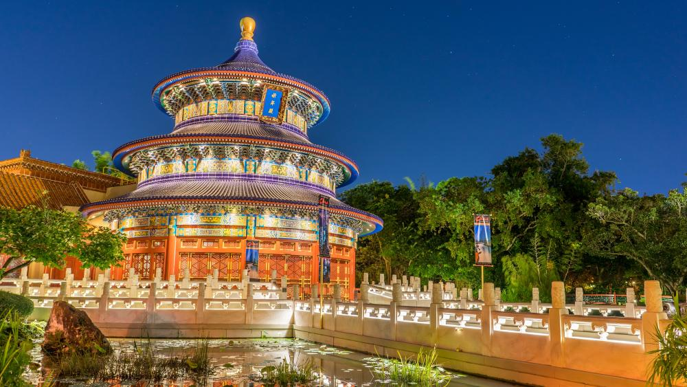 China Pavilion (Disney World) wallpaper