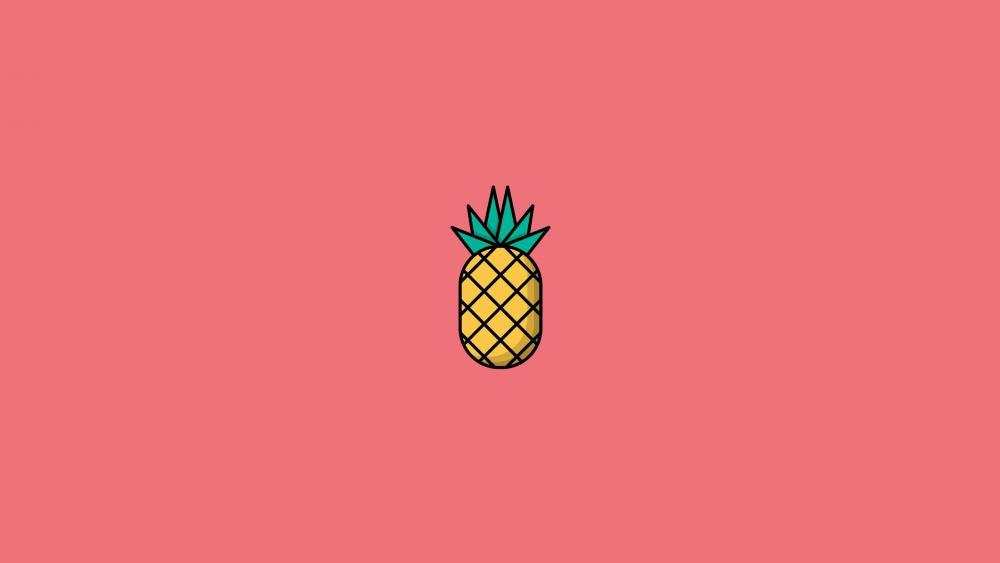 Pineapple graphics wallpaper