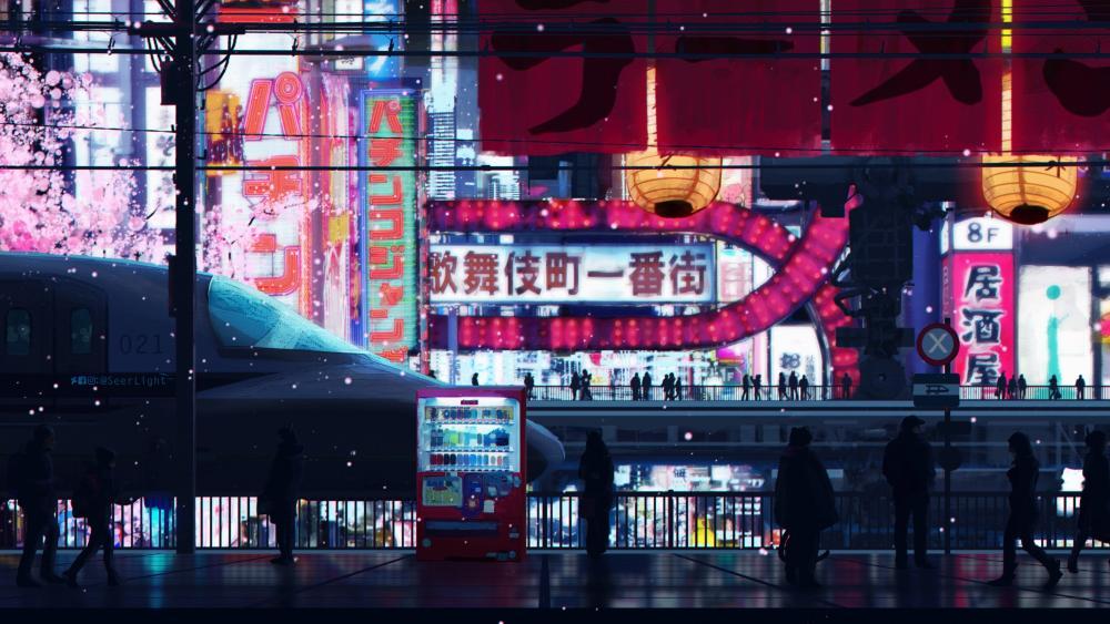 Cyberpunk Streets wallpaper