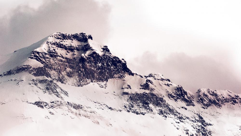 Mountaintop wallpaper