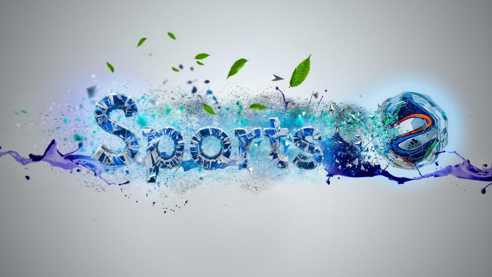 Sport Ball - Digital Art wallpaper