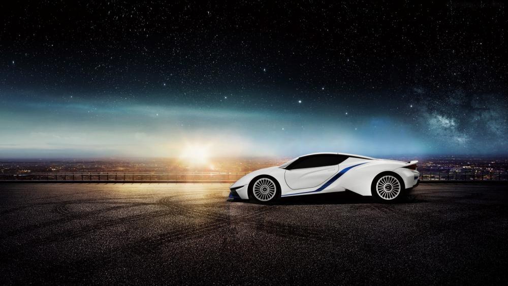 BAIC Arcfox-7 electric supercar wallpaper