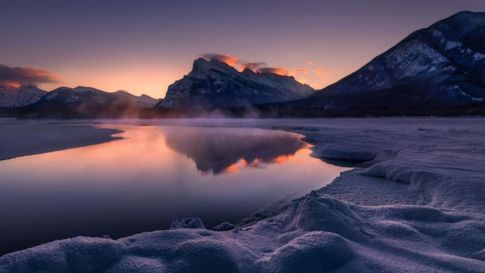 Mount Rundle and Vermilion Lakes (Banff National Park) wallpaper
