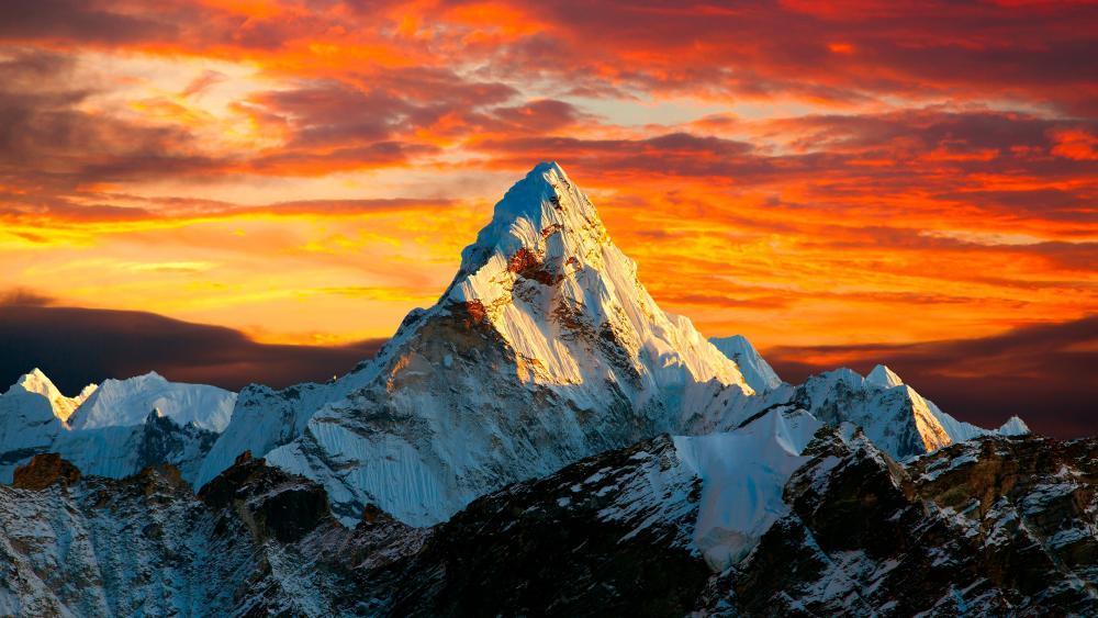 Ama Dablam (Himalayas) wallpaper