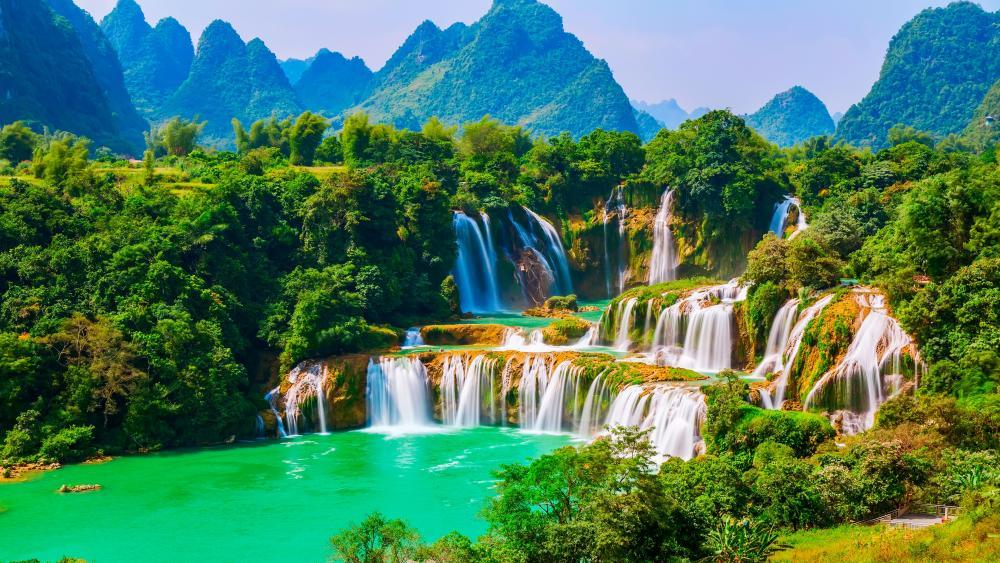 Ban Gioc - Detian Falls (Vietnam) wallpaper