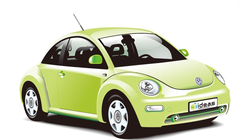 Volkswagen beetle VW Car wallpaper