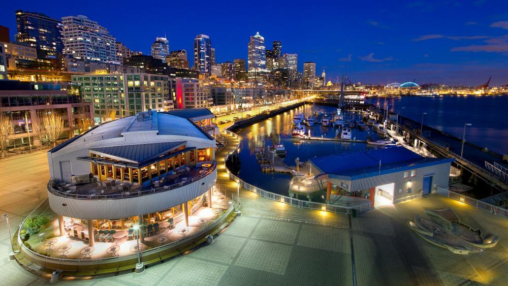 Seattle Waterfront wallpaper