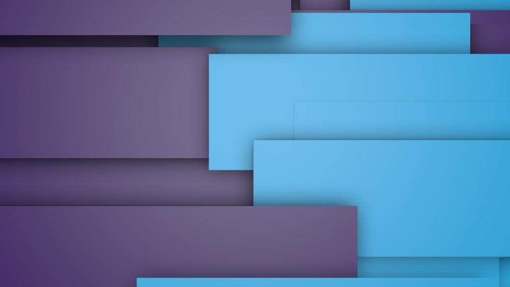 Bluish material design graphics wallpaper