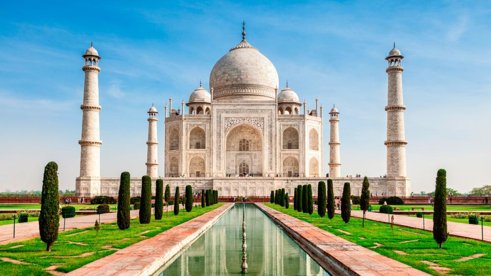 Taj Mahal - 7 wonders of world wallpaper