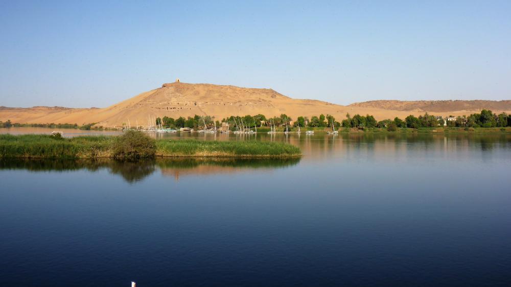 Nile river (Egypt) wallpaper