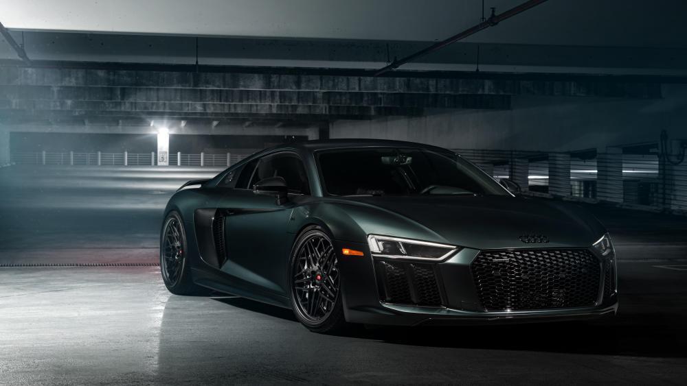 2018 Audi R8 V10 front wallpaper